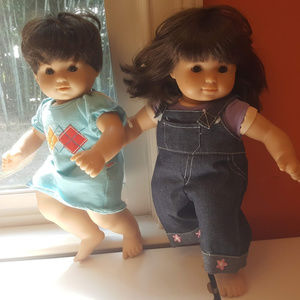 American Girl Dolls Bitty Baby Twins Brunette